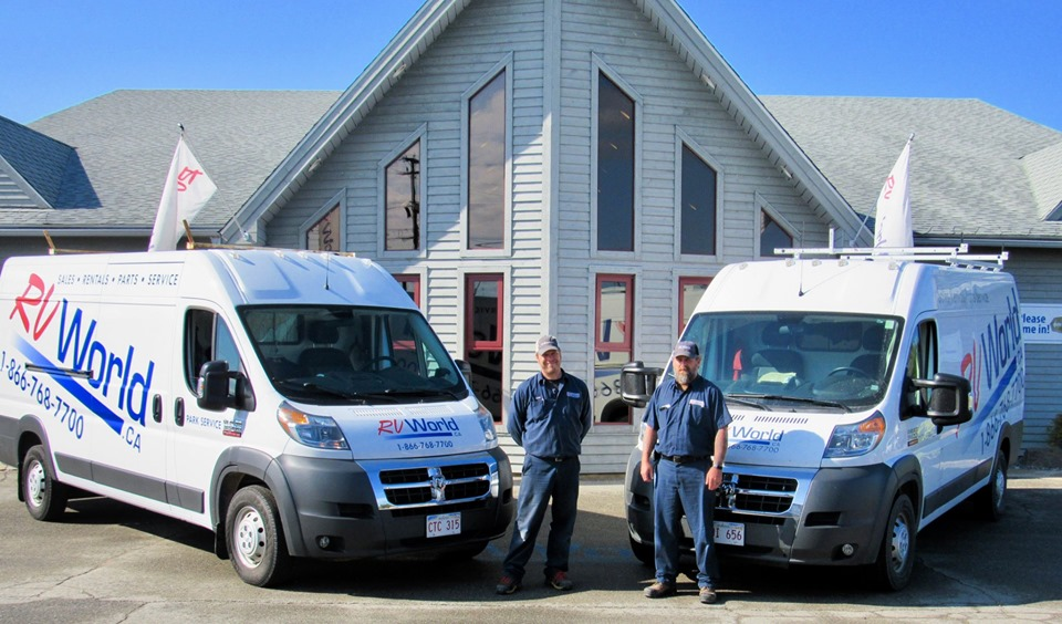 Mobile Service | RV World | Waasis New Brunswick